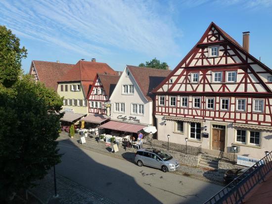 Krone Langenburg: Vue sur la rue principale