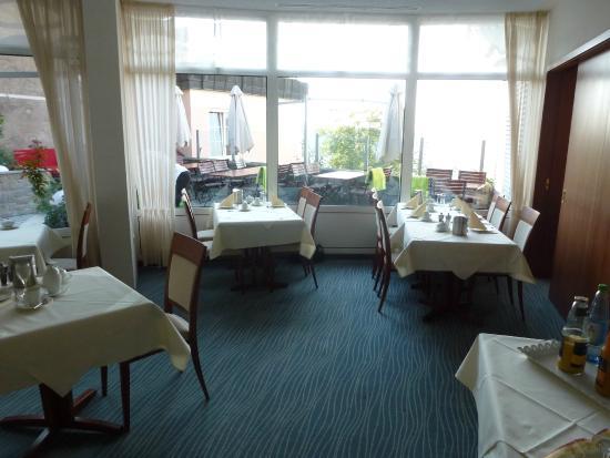 Krone Langenburg: La salle de restaurant