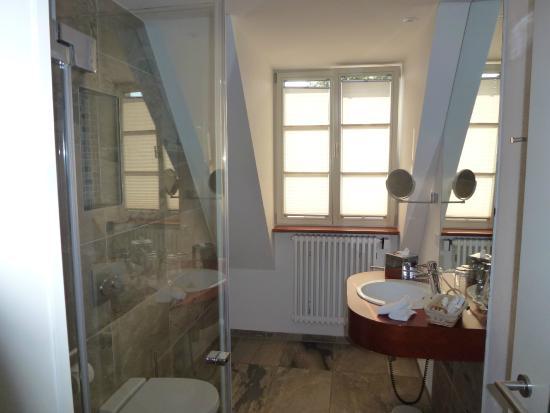 Krone Langenburg: Salle de douche