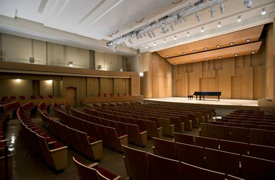 Denton, TX: Paul Voertman Concert Hall