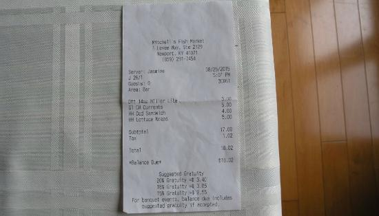 The bill picture of mitchell 39 s fish market newport for Mitchells fish market newport