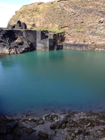 Abereiddy, UK: Blue Lagoon