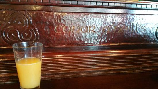 Conor O'Neill's: Irish mimosa, yummy!