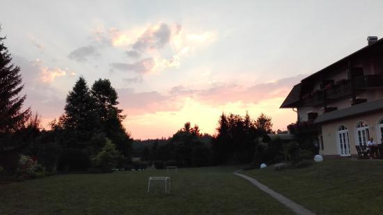 Klopeinersee, Austria: Tramonto