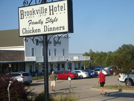 Brookville Hotel Restaurant View Of The