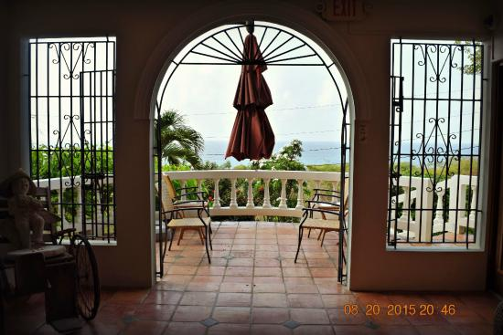 Hacienda Tamarindo: View from lobby