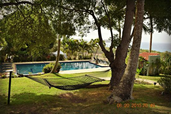 Hacienda Tamarindo: pool/hammock/lounge area