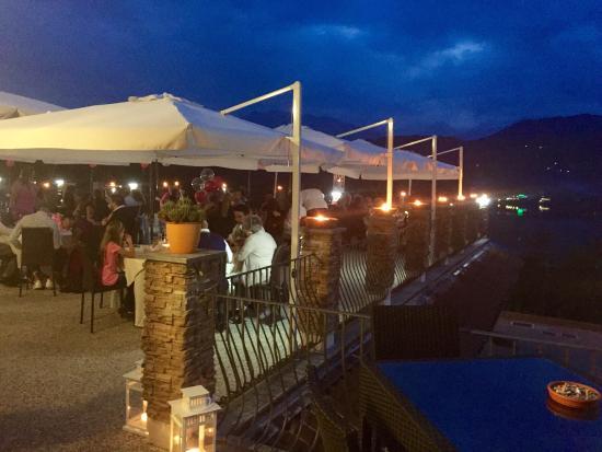 Terrazza sul lago - Picture of Le Maddalene Il Ristorante ...