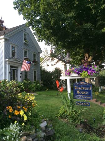 Camden Windward House : Lovely Windward House B&B in Camden, Maine