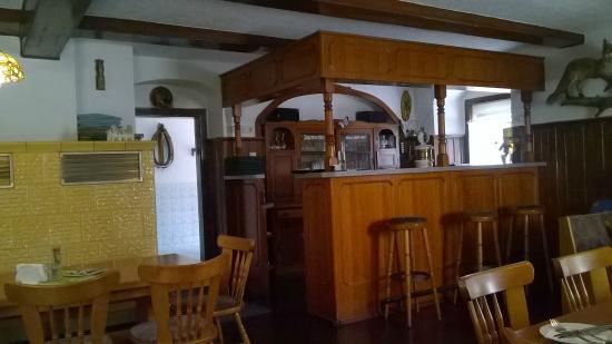 Nossen, Alemanha: Interno della trattoria