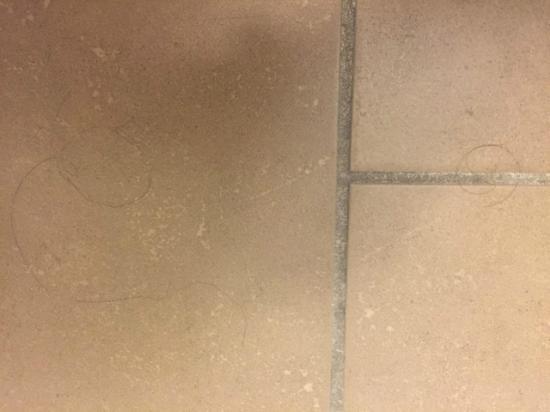 Candlewood Suites Detroit/Warren: Someone else's hair in bathroom of 2nd room