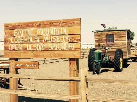 Battle Mountain, NV: Cookhouse Museum