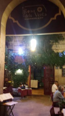 Restaurante Rosa Dels Vents: Ingresso