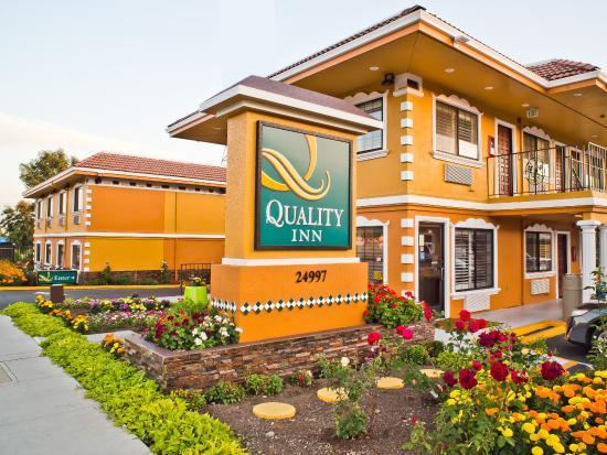 Quality Inn Hayward Hotel: Exterior