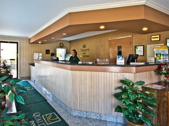 Quality Inn Hayward Hotel: Lobby
