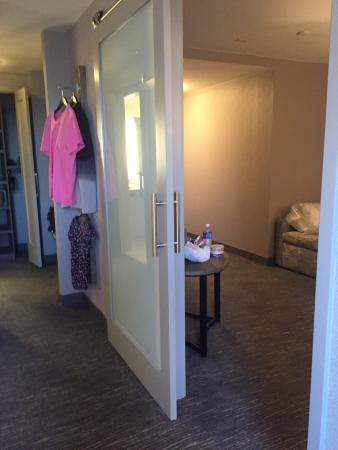 Hyatt Regency Boston: Not so suite !  More of a bedroom and a sitting area. Other room has no windows no air circulati