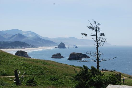 RV Resort at Cannon Beach: veiw from ecola state park