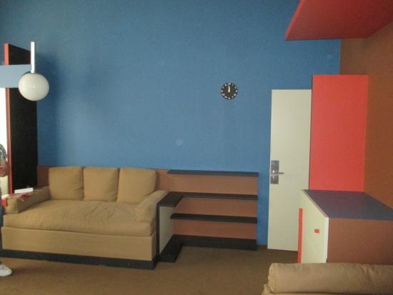Interieur chambre enfant foto van villa cavrois croix for Interieur chambre