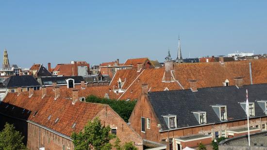 Hampshire Hotel - City Groningen : Вид с террасы отеля