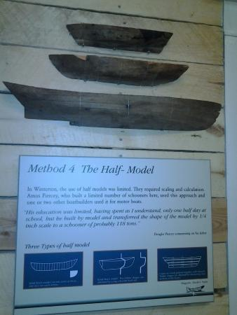 Half Models Used To Construct Wooden Boats One Of Several Methods
