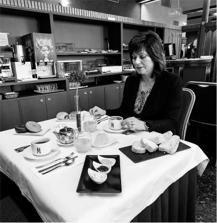 Hotel Ciudad de Burgos : Desayuno Buffet