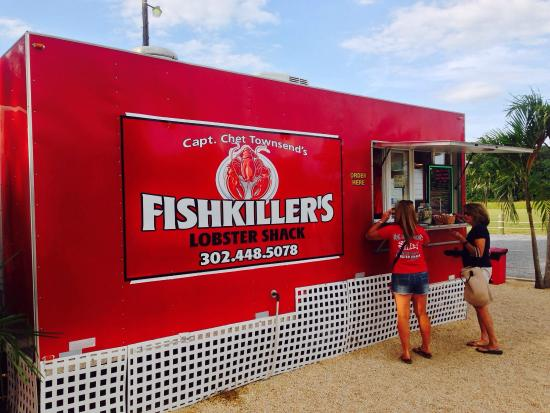Millville, Делавер: Fishkiller's Lobster Shack