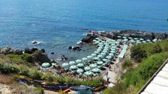 Bagno delle Donne Beach spiaggia delle Donne a Talamone, vuota