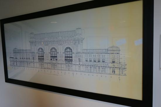Blueprints of union station picture of union station kansas city blueprints of union station malvernweather