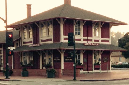 Landmark,Railroad Station, Santa Paula, CA