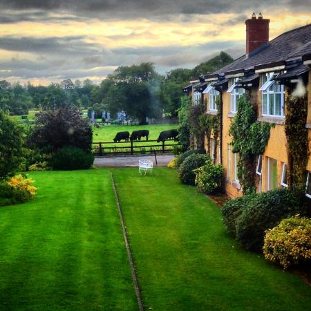 Dunraven Arms Hotel: View from bedroom