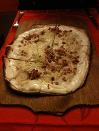 Barberousse : tarte flambee