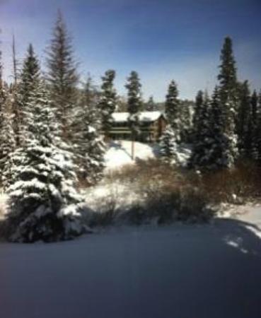 Pine Ridge Condominiums: View onto 4:00 run