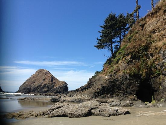 Ocean Breeze Motel: Enjoy the most breath taking views that the Oregon Coast provide, only minutes away from our loc