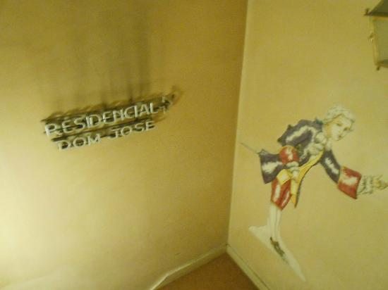 Residencial Dom Jose: scala d'accesso