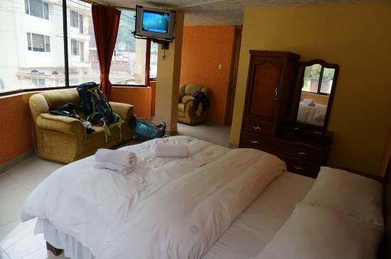 Hotel Puerta del Sol: Chambre double 204