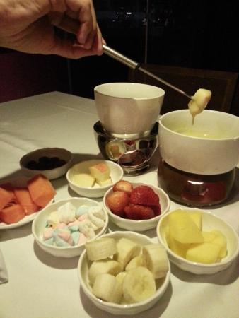 La Bonne Fondue: sobremesa
