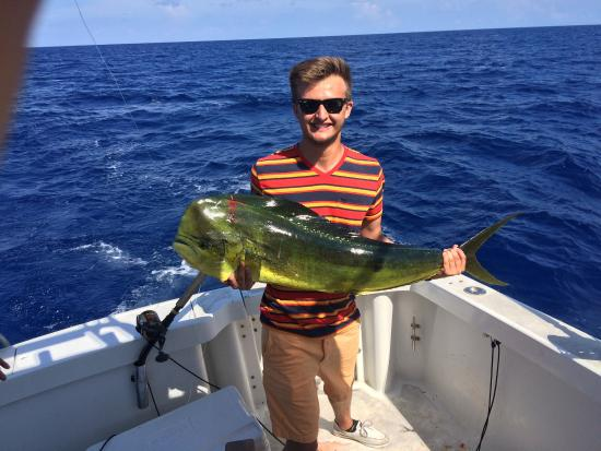 Daily catch picture of slackem fishing charters george for Grand cayman fishing