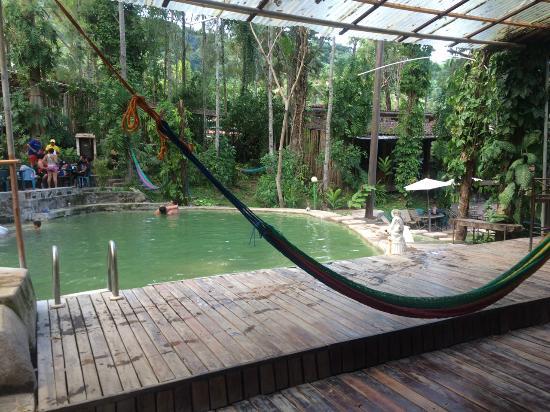 Rea de piscinas picture of termales de santa teresa for Piscina santa teresa