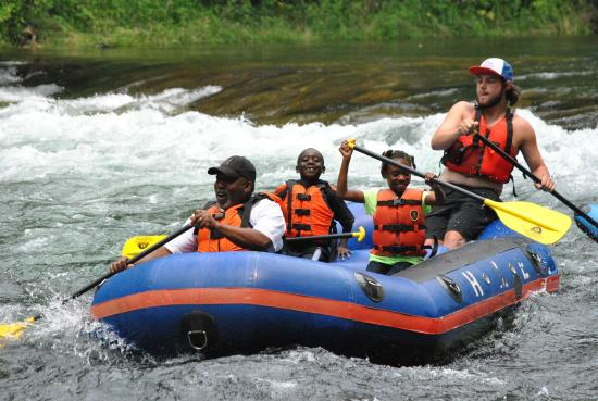 Highlands at Sugar: Whitewater rafting