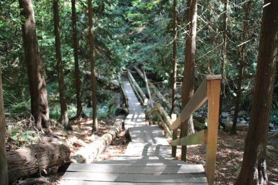 Нанаймо, Канада: Steep boardwalk