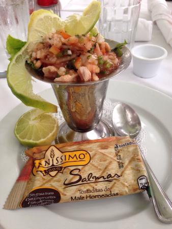 Terraza de Palermo Restaurant: Food a nice view