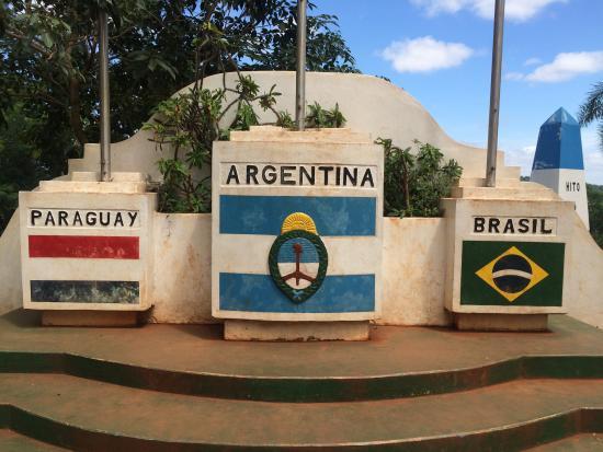 Hito de Las Tres Fronteras Argentina: Hito tres fronteras.