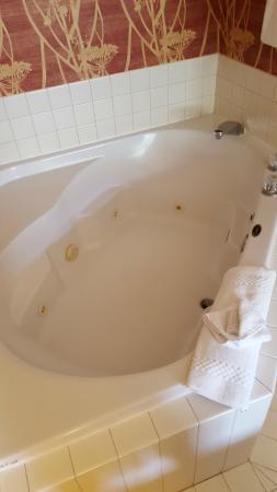 Courtyard Eugene Springfield: Whirlpool tub in spa room