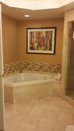 JW Marriott Las Vegas Resort U0026 Spa: Really Nice Bathroom; Great Tub But  Drain