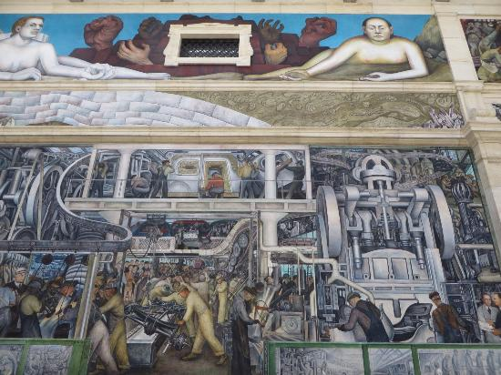 Detroit industry murals river court dia picture of for Diego rivera detroit mural