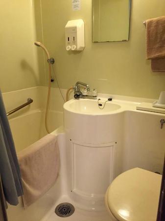 Otsuka City Hotel : ห้องน้ำสอาด พร้อมอ่างอาบน้ำ