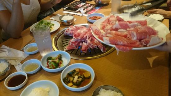 Korean Bbq Picture Of Korean Garden B B Q Restaurant Las