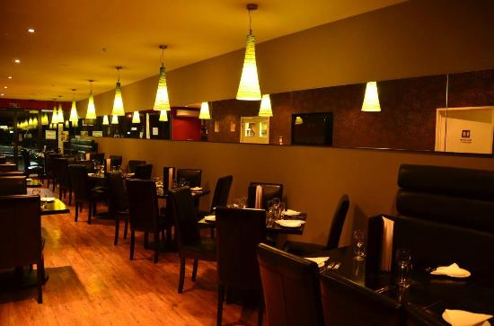 Coriander's: Intimate tables are perfect for your relaxing weekend away together