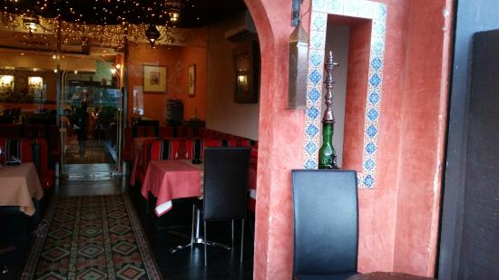 Nargile Lounge : the entrance