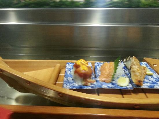 Best Sushi Boat Restaurant San Francisco